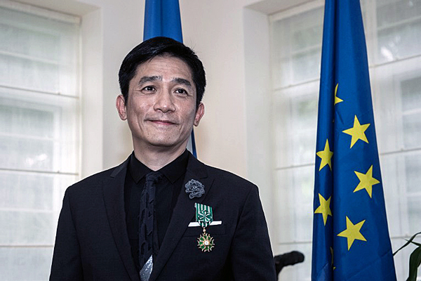 Hong Kong actor Tony Leung