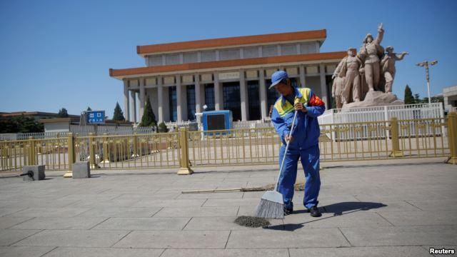 Mausoleum of late Chinese chairman Mao Zedong