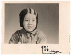 雪迪童年于北京1