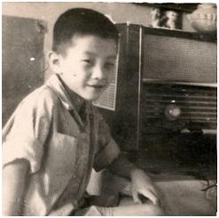 雪迪童年于北京2