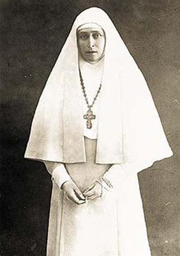 图三:出家后的伊丽莎白女大公