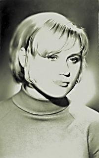 与普京热恋时的布里列娃
