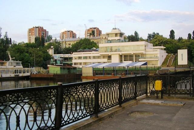 尼古拉耶夫市寂静的早晨