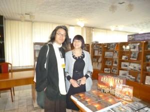 比什凯克国家图书馆中亚书展展场