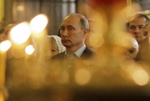 2012年圣诞节普京
