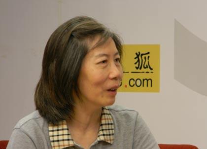 图片:北京清华大学社会学教授郭于华。(网络图片)
