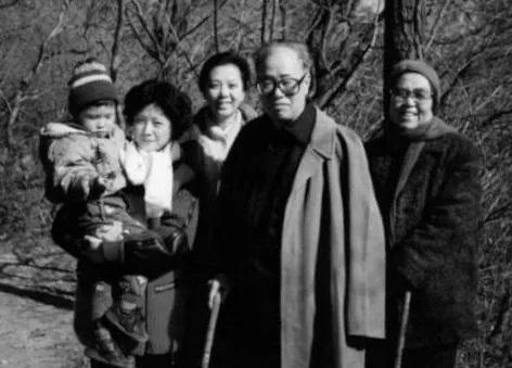 赵紫阳与家人
