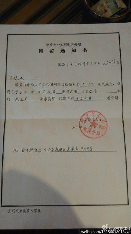 He Zhengjun-detention