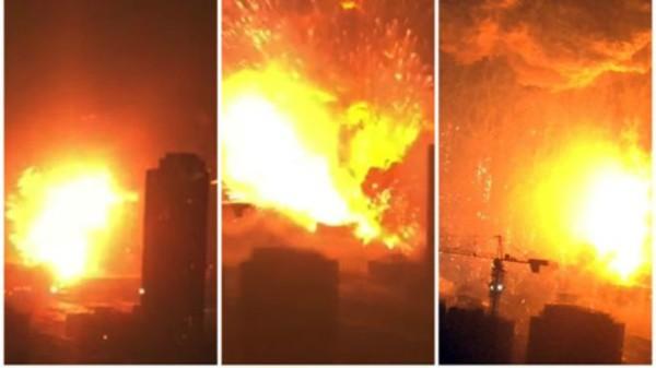 天津爆炸10