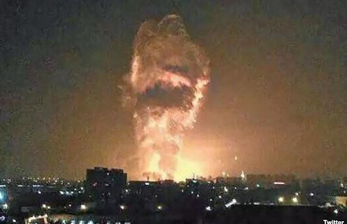 天津爆炸7