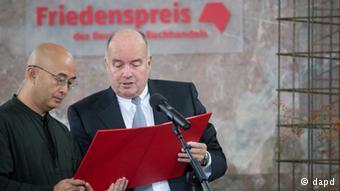 廖亦武获得2012年德国书业和平奖