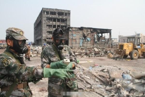 天津爆炸16