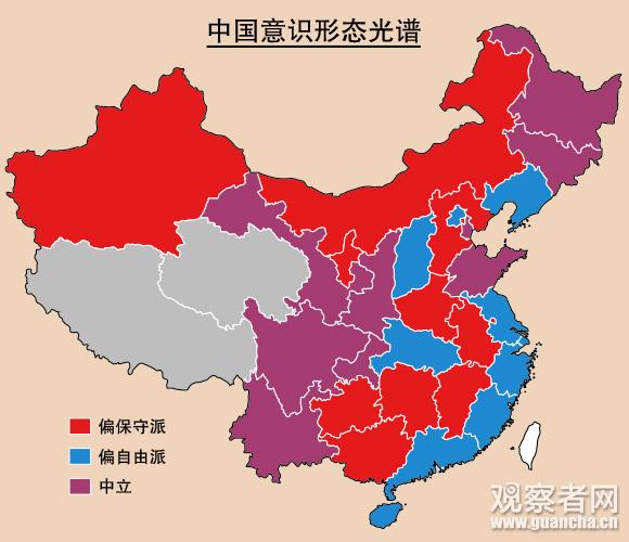 中国意识形态光谱
