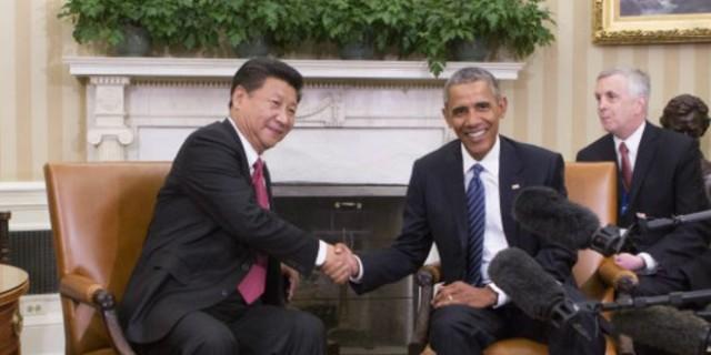 习近平与奥巴马会谈