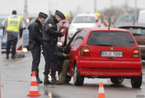 法国警察在斯特拉斯堡
