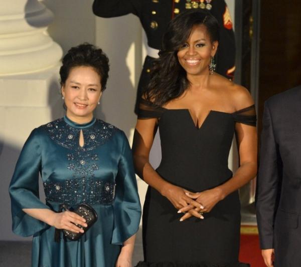 彭丽媛和奥巴马夫人