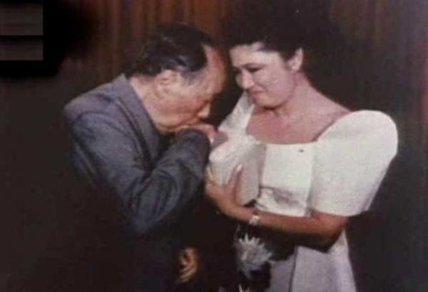 毛泽东和伊梅尔达