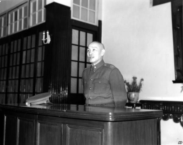 蒋介石在南京