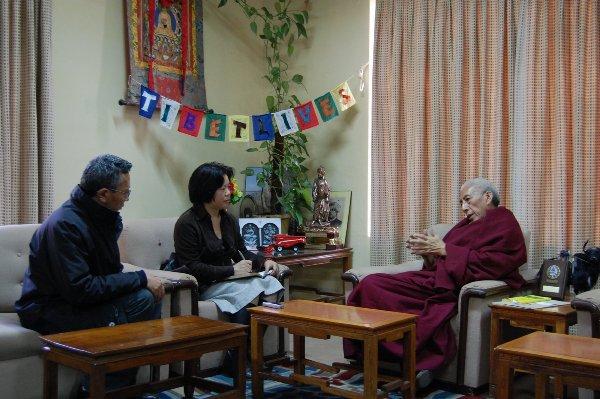 朱瑞:首相桑东仁波切谈西藏流亡社会民主政体的建立2
