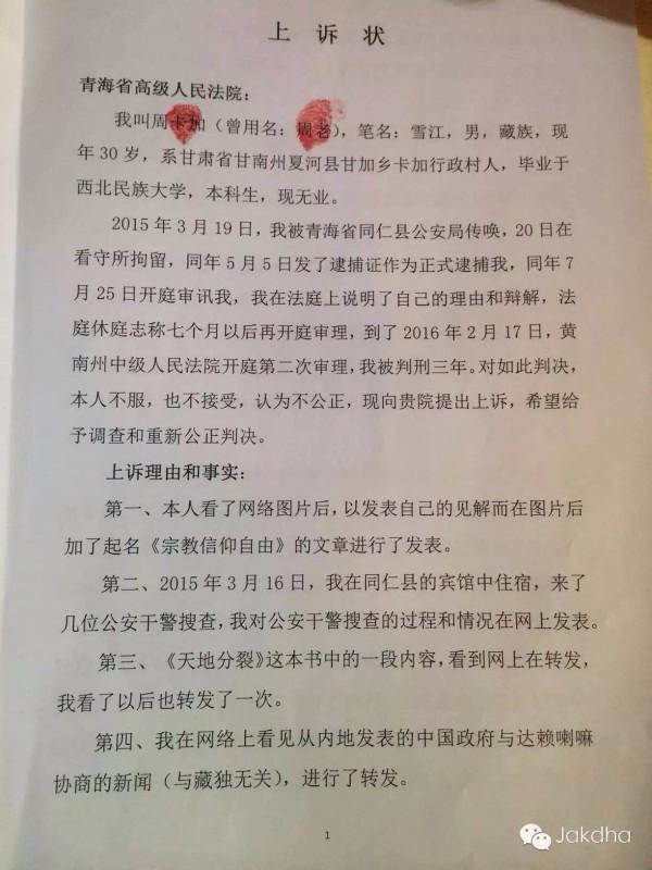 雪合江-上诉书1