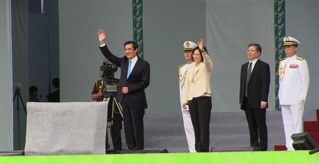 台湾结束马英九时代,开启蔡英文时代