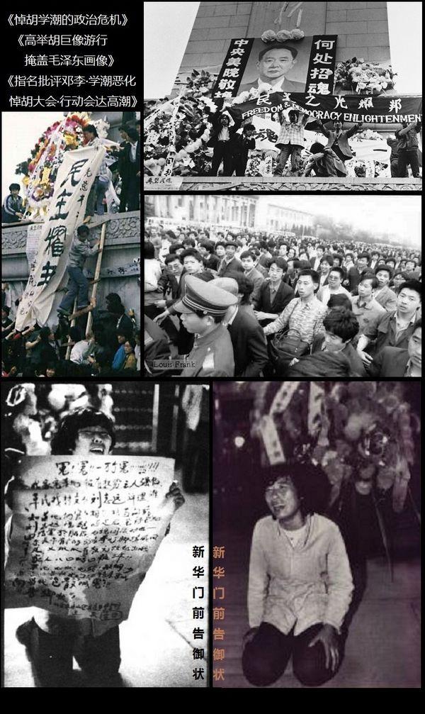 悼念胡耀邦要求推进中国民主改革