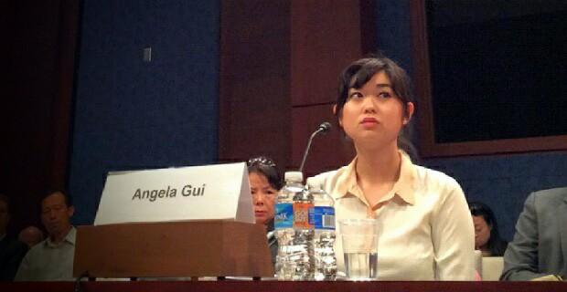 桂民海女儿Angela Gui