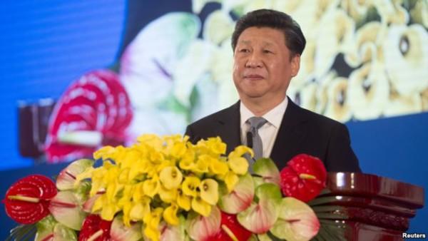 中国主席习近平在北京的美中战略与经济对话的开幕式上讲话