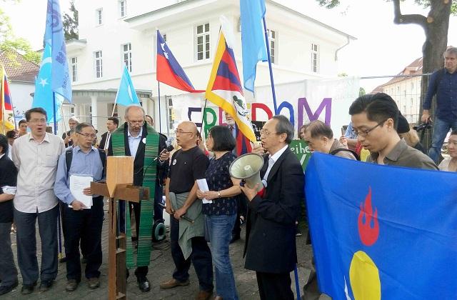 彭小明:六月四日德国民运纪念活动见闻1
