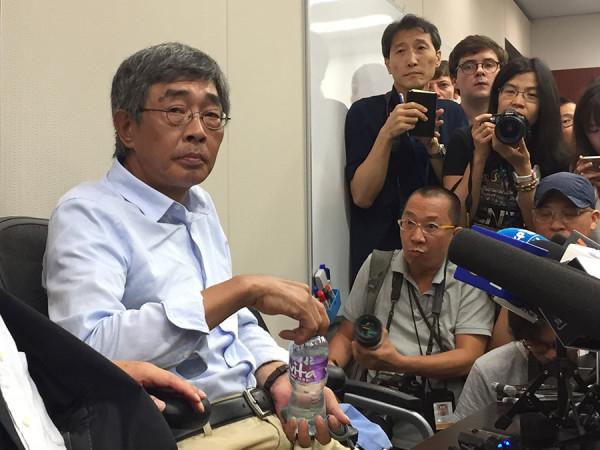 林荣基指被非法扣查2