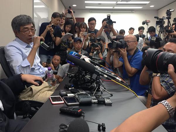 林荣基指被非法扣查3