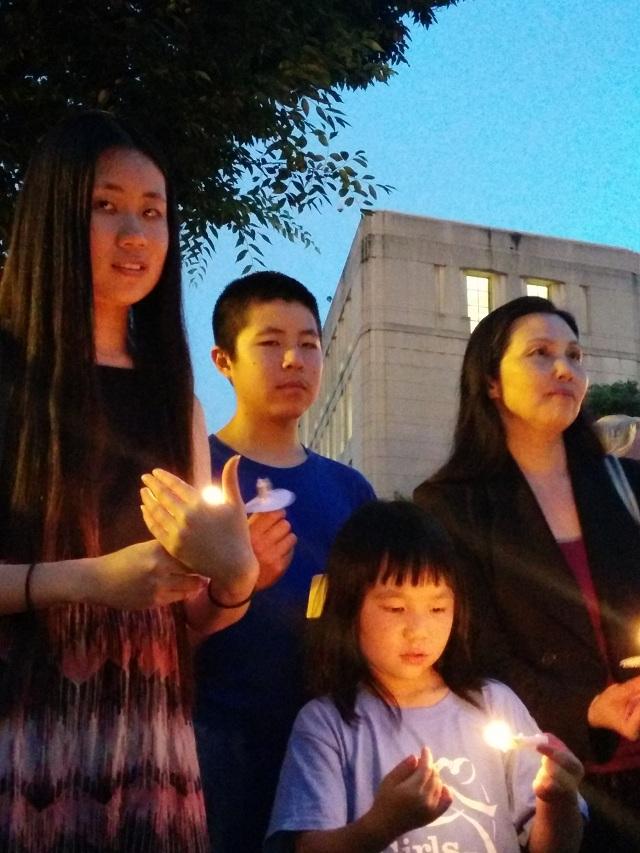 肖国珍:公民力量与独立中文笔会等多个机构合作举办的六四纪念活动5