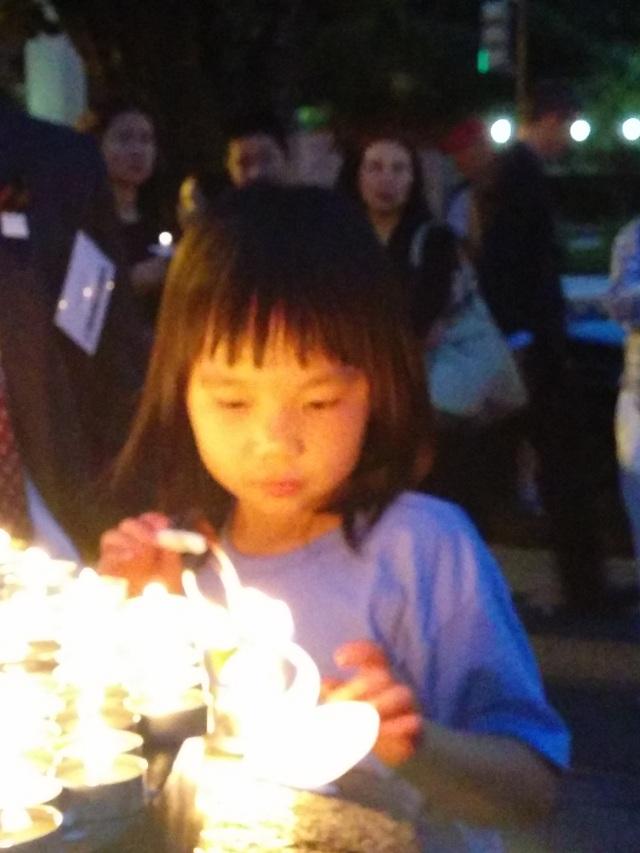 肖国珍:公民力量与独立中文笔会等多个机构合作举办的六四纪念活动6