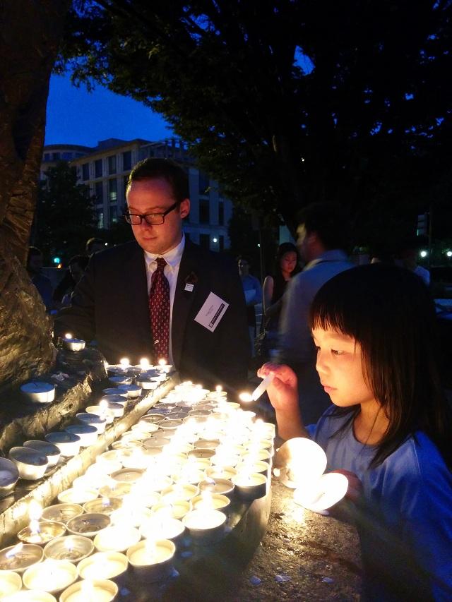 肖国珍:公民力量与独立中文笔会等多个机构合作举办的六四纪念活动7