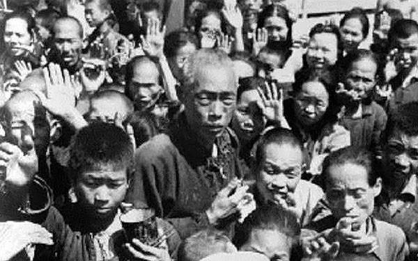 1958年到1962年间中国大陆发生严重饥荒