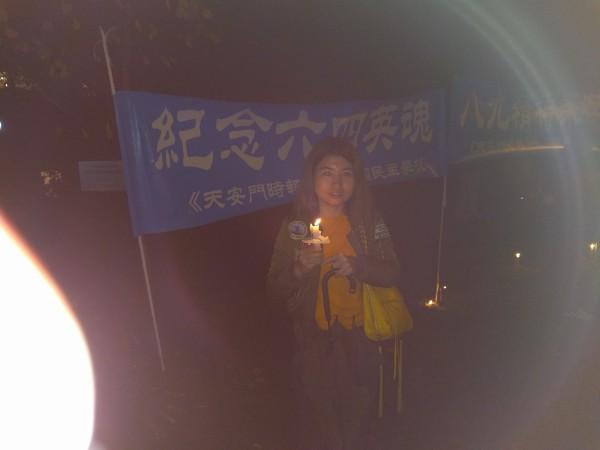 墨尔本年轻留学生参与六四纪念活动
