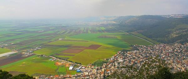 從大博爾特山遠眺吉瑞爾谷地