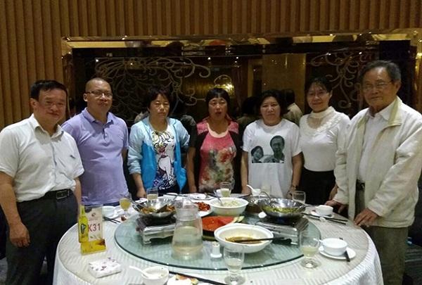 注册中的中国人权观察成员,正在寻找赵素利下落