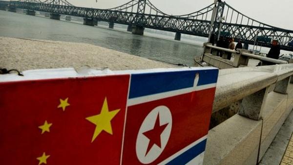 辽宁丹东中朝友谊桥口