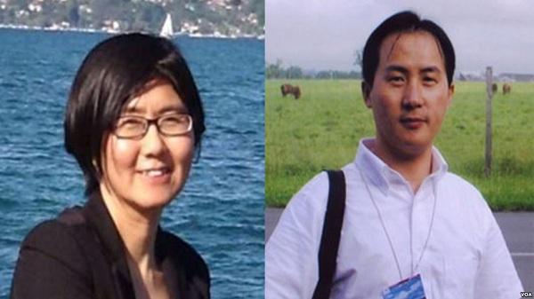 王宇(左),李和平