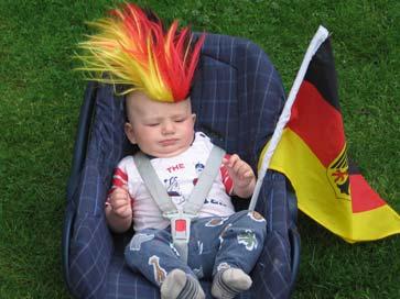 足球+啤酒=德式爱国主义