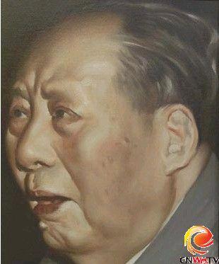 陈丹青--毛泽东油画
