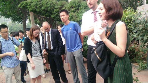 709大抓捕案:声援者、外交官到天津法院,疑未开庭9