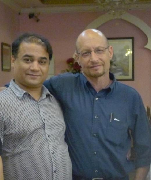 伊力哈木左与美国藏学学者史伯岭