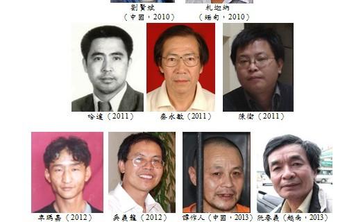 刘晓波写作勇气奖