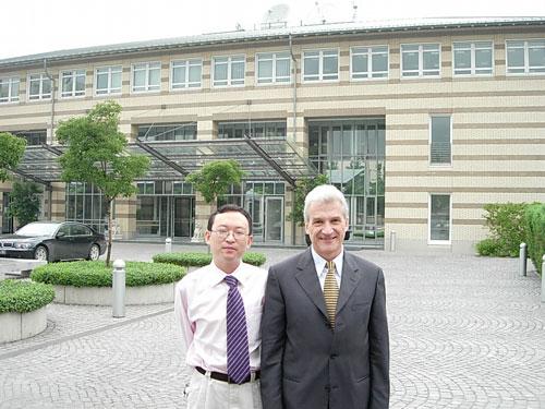 余杰与德国驻华大使史丹泽