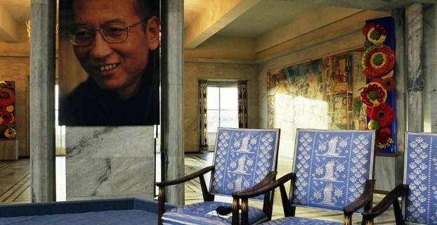 刘晓波、空椅子、诺贝尔和平奖