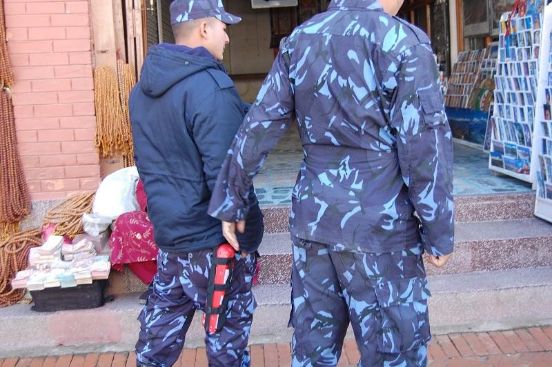 博拿佛塔周围的警察2