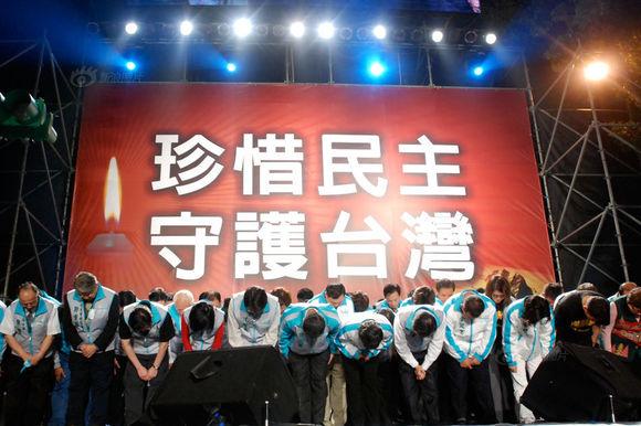 台湾民主促进大陆民主