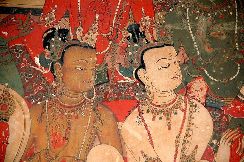 夏鲁寺壁画